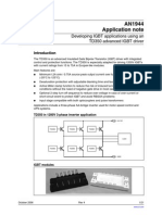 Developing IGBT Applications Using an TD350 Advanced IGBT Driver-CD00020010