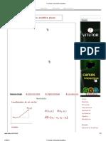Fórmulas de Geometría Analítica