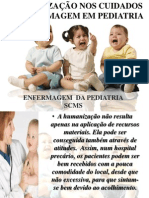 SENSIBILIZAÇÃO NOS CUIDADOS DE ENFERMAGEM EM PEDIATRIA