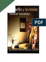 Yasunari Kawabata Lo Bello y Lo Triste.pdf