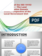Creation of a Localized Land Administration Domain Model
