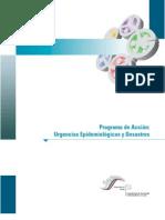 Programa de Accion Urgencias Epidemiologicas y DesastresCofepris