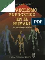 Metabolismo Energetico en El Humano - Racotta Poulieff, R