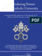 The Enduring Nature of a Catholic University