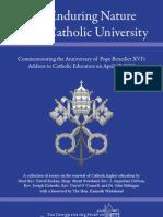 The Enduring Nature of a Catholic University