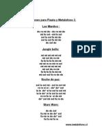 Canciones Para Flauta y Metalofono 2