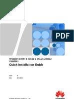 TP48200T-D20A1 & D20A2 & D14A1 & D14A2 Quick Installation Guide (V300R001_01)