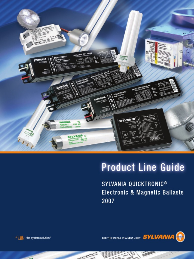 Sylvania Ballast | Fluorescent Lamp | Lighting on