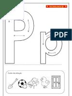 Guía letra p