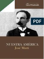 NUESTRA AMÉRICA, José Martí