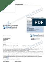 Sample ESOP Report
