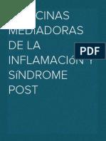 Citocinas mediadoras de la inflamación y Síndrome Post
