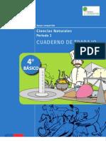 4° BÁSICO - CUADERNO DE TRABAJO - CIENCIAS NATURALES