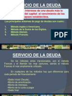 Servicio de Deuda..