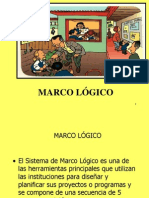 Marco Logico 2012