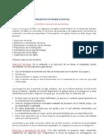 PARAMETROS PARA PRESENTAR INFORMES ESCRITOS1
