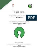 Proposal Sekolah Go to Open Source