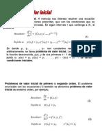 Tema 1.3. Problemas de Valor Inicial