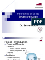Topic 2&3 - Stress & Strain