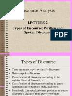 2L2 Spoken&Written Discourse