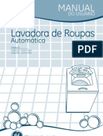 Manual Lavadoura de Roupas GE