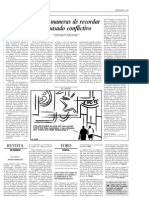 Kalyvas, Stathis (2006). Cuatro Maneras de Recordar Un Pasado Conflictivo. El Pais, 22 Nov