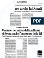 Rassegna Stampa 22.05.13
