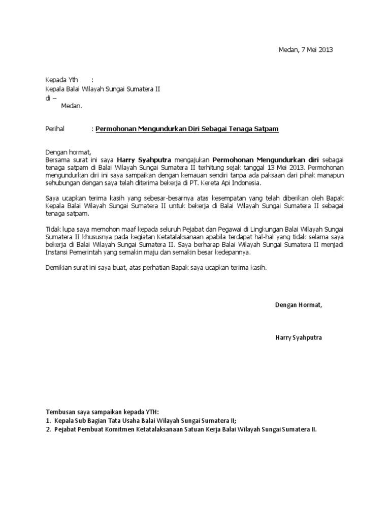Surat Pengunduran Diridocx