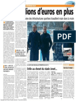 La Nouvelle Gazette - Deux Millions d'Euros en Plus - 22.05.13
