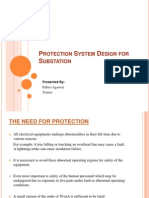 Protection System Design for Substation