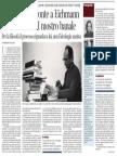 Giuntina pubblica una nuova edizione de La banalità del male di Hannah Arendt - Corriere della Sera 22.05.2013