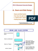 Beam and Slab Design