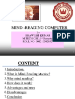 Mind Reading Computer .Ppt - New
