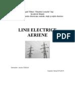 LINII ELECTRICE AERIENE