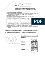 Study Guide 2009 - Soils