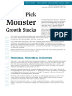 Monster Stocks