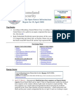 DHS Daily Report 2009-04-16