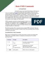 Some Basic UNIX Commands