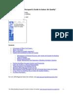 IAQ Occupants Guide