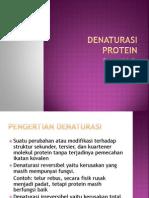 Denaturasi Protein