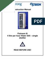 Distilator Fistream - En