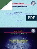 Slides - Laser Ablation