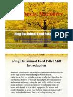 Ring Die Animal Feed Pellet Mill