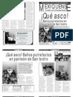 Versión impresa del periódico El mexiquense 22 mayo 2013