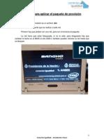 Tutorial - Aplicar Paquete de Provision