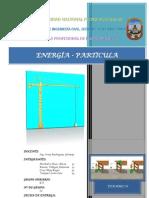Energia - Trabajo (Dinamica)- Trabajo Final