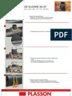 2_SA ELECTROFUZIUNE - Instructiuni Sudare Sa Electrofuziune PLASSON