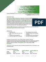 COLAFAX PME SERIES
