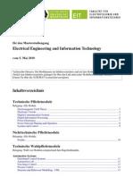 Master EEIT - Modulhandbuch (Vom 5. Mai 2010)