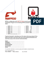 NFPA in Collaboration With NAFFCO Qatar Proud to Present Seminars